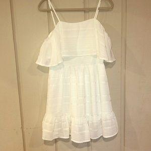 Gianni Bini white off the shoulder dress